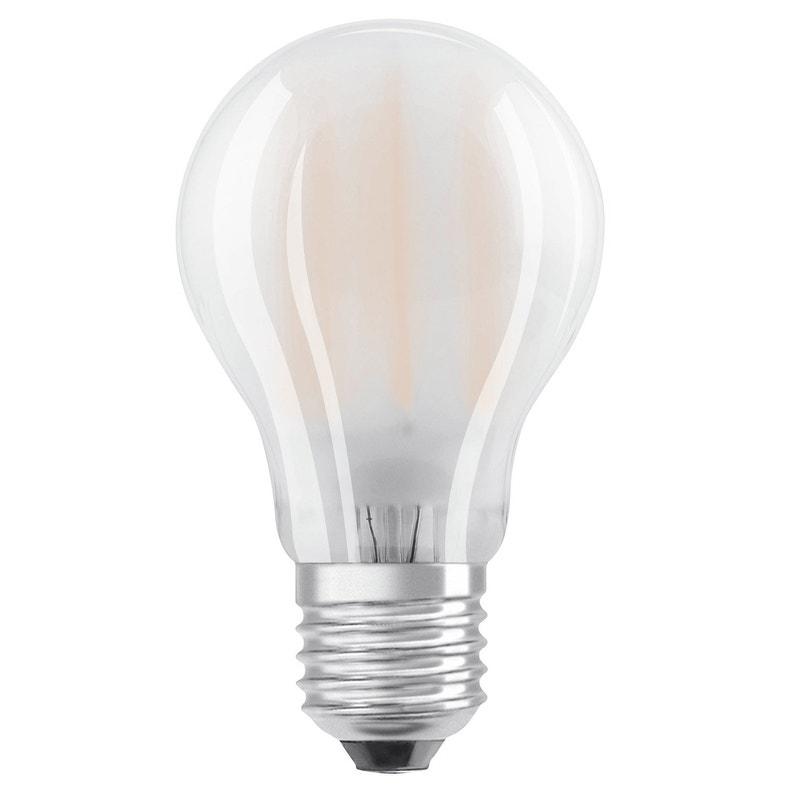 ampoule led filament dimmable e27, 8.5w = 1055lm (équiv 75w) 2700k