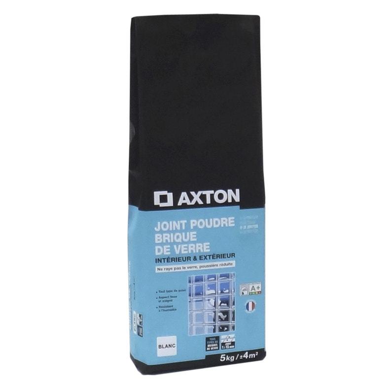 Joint Poudre Brique De Verre Axton Blanc 5 Kg