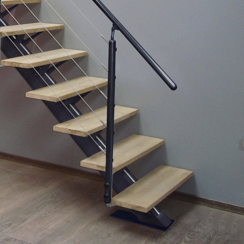 kit rampe pour escalier mona escapi leroy merlin. Black Bedroom Furniture Sets. Home Design Ideas
