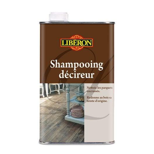 Shampooing d cireur liberon 1 l leroy merlin for Produit liberon bois