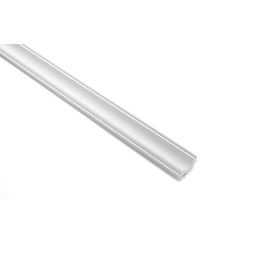 Moulure de plafond f022 polyur thane 5 5 x 200 cm leroy merlin - Dalles plafond polyurethane ...