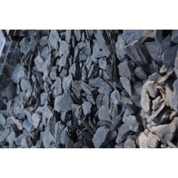 Pétales d'ardoise, bleu, 30/60 mm, 25 kg