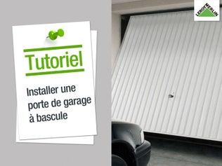 Poser une porte de garage basculante