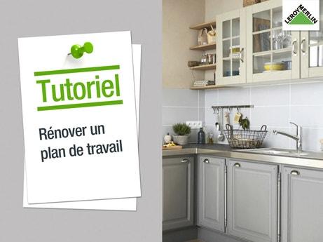 Plan De Travail Et Crédence - Cuisine | Leroy Merlin