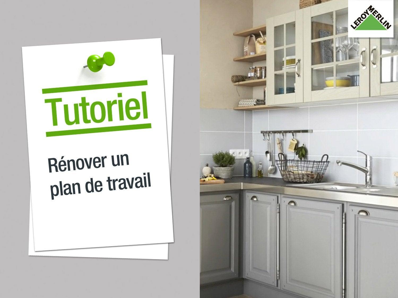 latest comment rnover son plan de travail with amenagement cuisine 3d. Black Bedroom Furniture Sets. Home Design Ideas