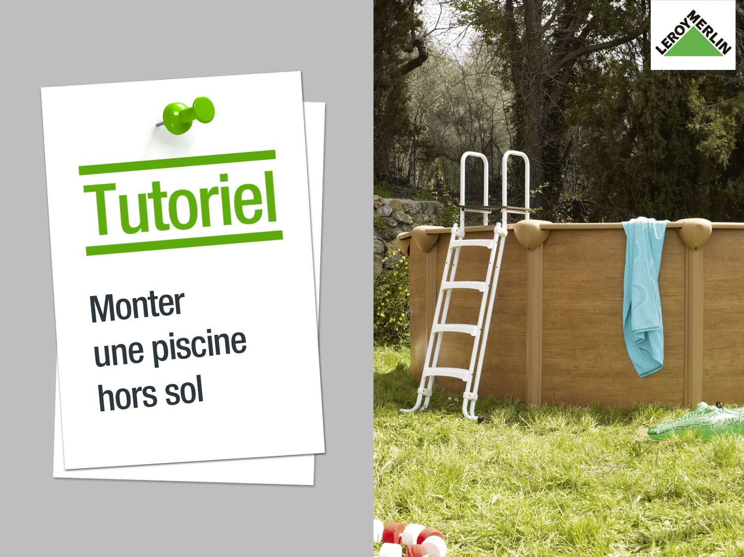 Kit alarme pour piscine enterr e a immersion visiopool for Monter une piscine en bois
