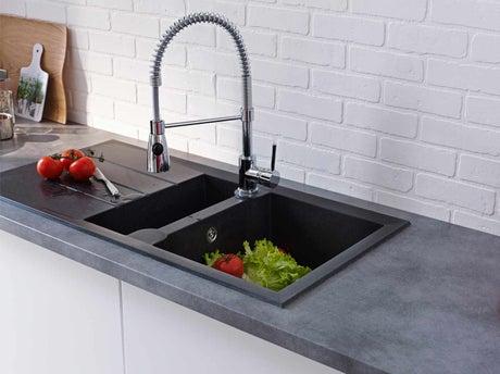 bien choisir son robinet de cuisine leroy merlin. Black Bedroom Furniture Sets. Home Design Ideas