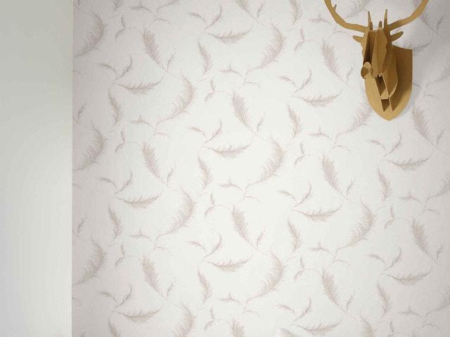 papier peint papier parement de bois gris leroy merlin