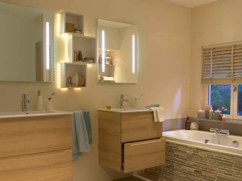 Accessoires salle de bain leroy merlin for Dans la salle de bain