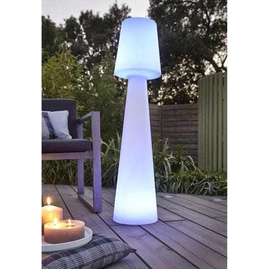 Lampadaire ext rieur lola 110 cm 2 5 w 165 lm couleurs for Luminaire exterieur plastique
