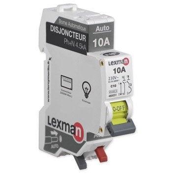 Disjoncteur coupe circuit et interrupteur diff rentiel triphase leroy me - Comment installer un disjoncteur differentiel ...