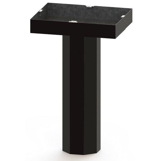 r cup rateur de chaleur pour po le bois dmo leroy merlin. Black Bedroom Furniture Sets. Home Design Ideas