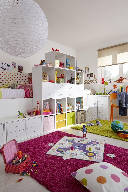 Une chambre d\'enfant pratique et colorée | Leroy Merlin
