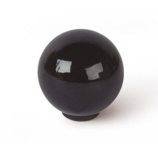 Bouton de meuble boule acrylique brillant leroy merlin - Bouton de meuble design ...