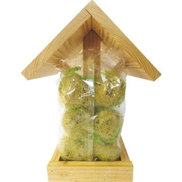 mangeoire et nichoir oiseau abri h tel insectes au meilleur prix leroy merlin. Black Bedroom Furniture Sets. Home Design Ideas