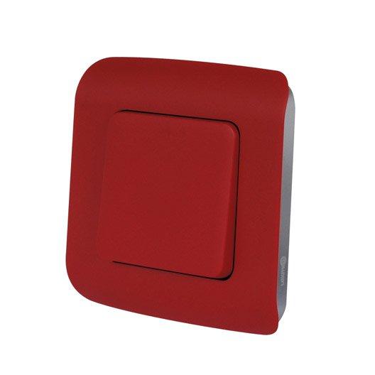 interrupteur va et vient cosy lexman rouge rouge n 3. Black Bedroom Furniture Sets. Home Design Ideas