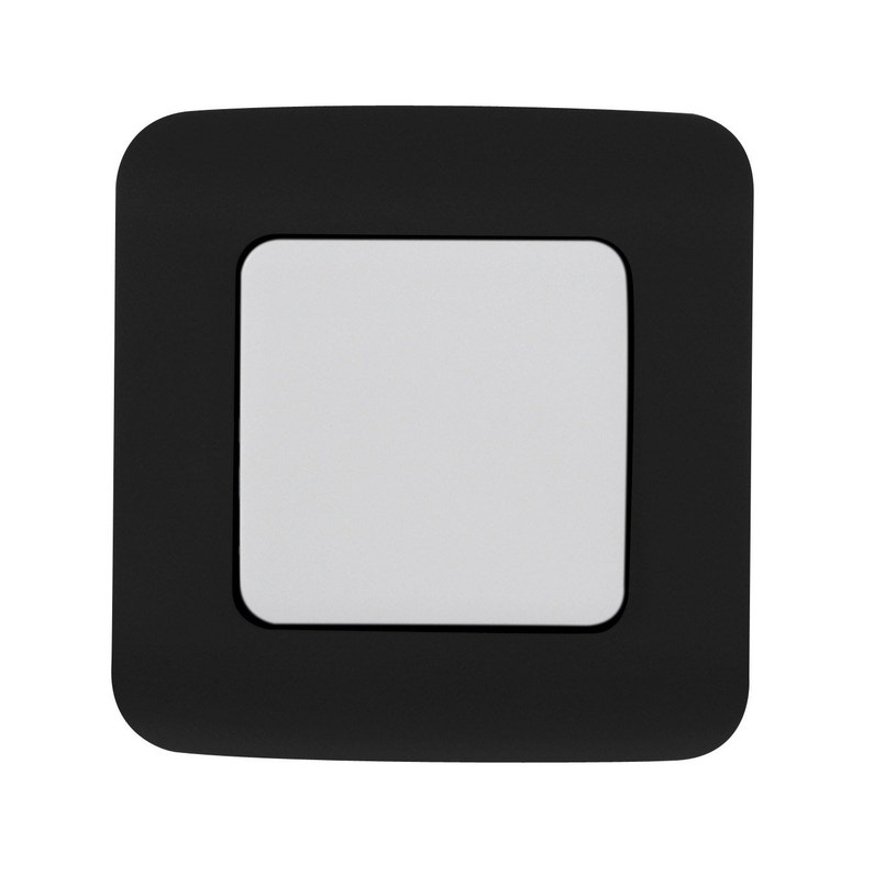 Interrupteur Va Et Vient Cosy Noir Noir N 0 Lexman Leroy Merlin