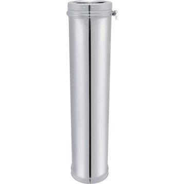 Tuyau pour conduit double paroi ISOTIP JONCOUXDiam.200 mm 0.95 m Ep.30 mm
