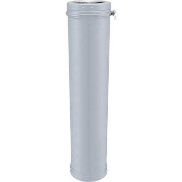 Tuyau pour conduit double paroi ISOTIP JONCOUXDiam.153 mm 0.95 m Ep.30 mm