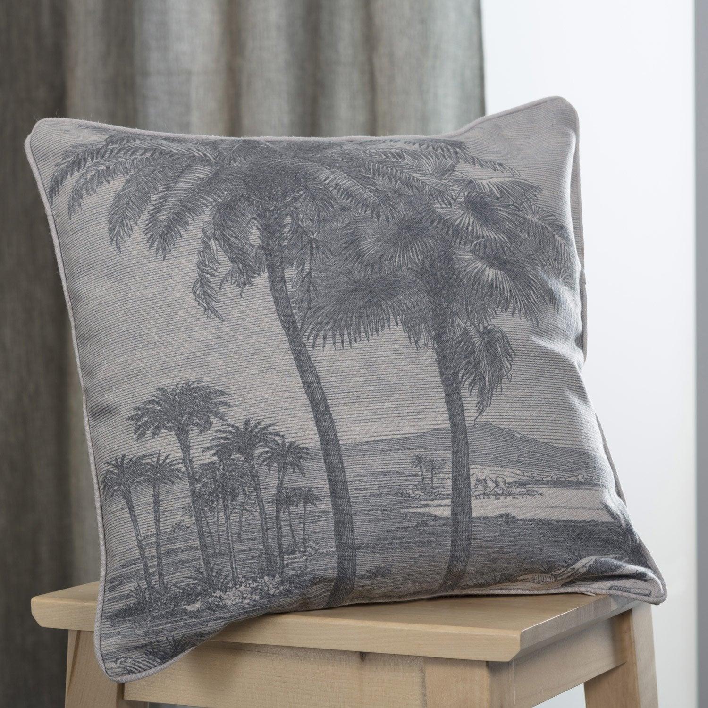 Coussin Palma, naturel l.40 x H.40 cm