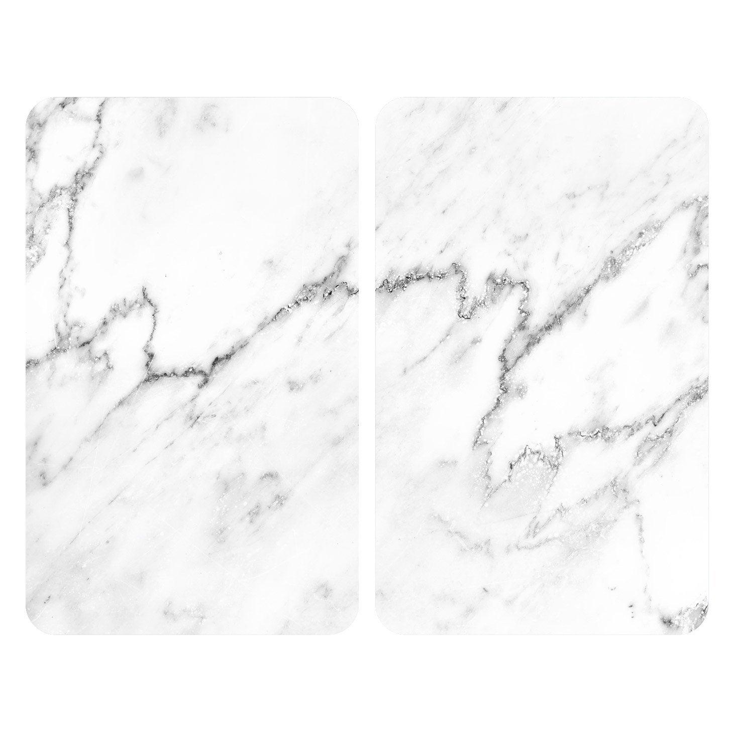 Plat En Verre Sur Plaque Induction plaque de protection en verre trempé marbre