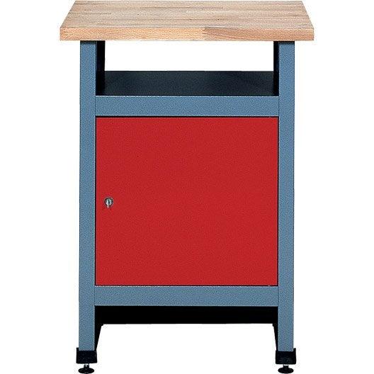 table d 39 tabli de m canicien kupper 60 cm 1 porte leroy merlin. Black Bedroom Furniture Sets. Home Design Ideas