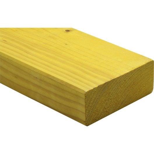 bois d 39 ossature sec sapin pic a trait 45x120 mm 3 m leroy merlin. Black Bedroom Furniture Sets. Home Design Ideas