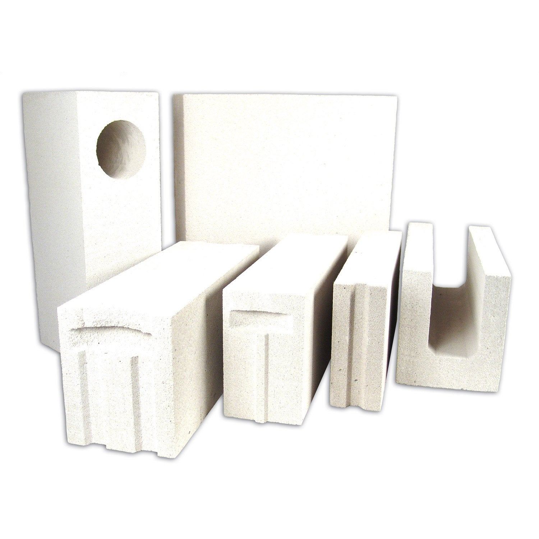 bloc béton cellulaire d'angle cellumat 20x25x60 cm   leroy merlin