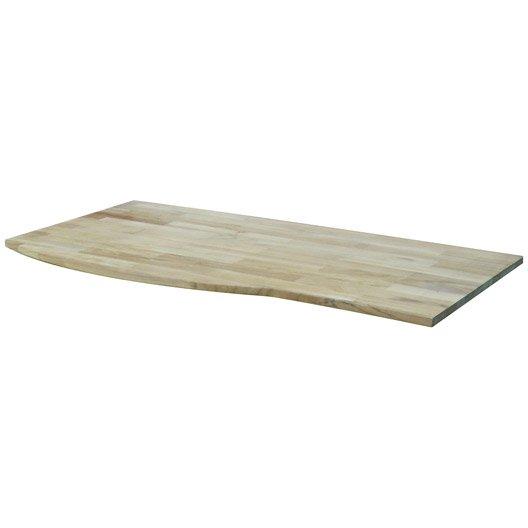 Meuble sous vasque wellington bois massif 124 5 cm leroy for Meuble vasque bois massif