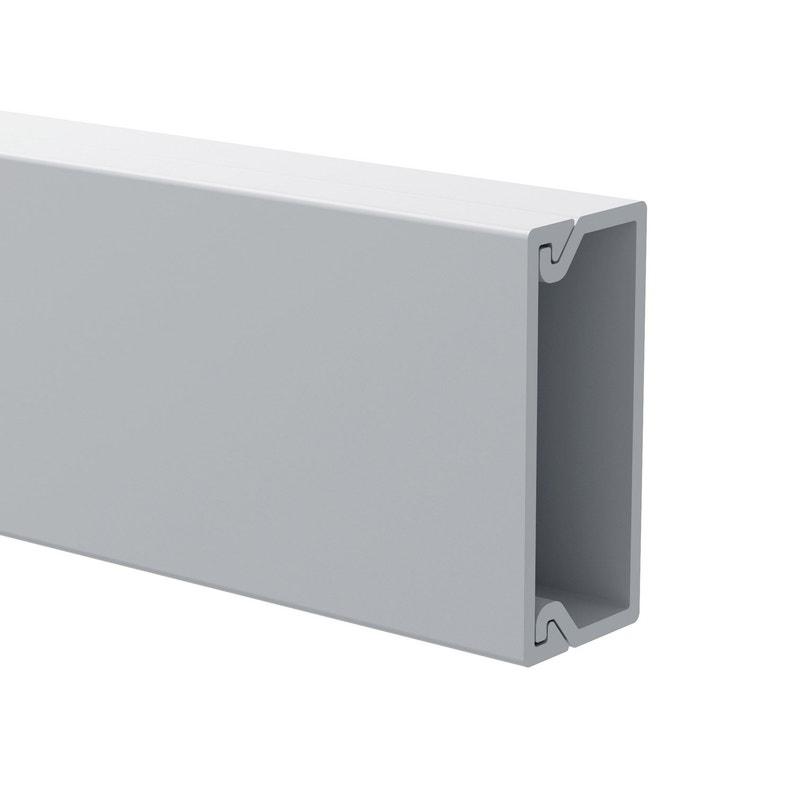 Cache Câble Blanc Pour Moulure H1 X P22 Cm