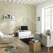 Plaquette de parement béton beige Atelier