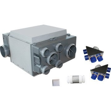 Caisson VMC double flux haut rendement EQUATION