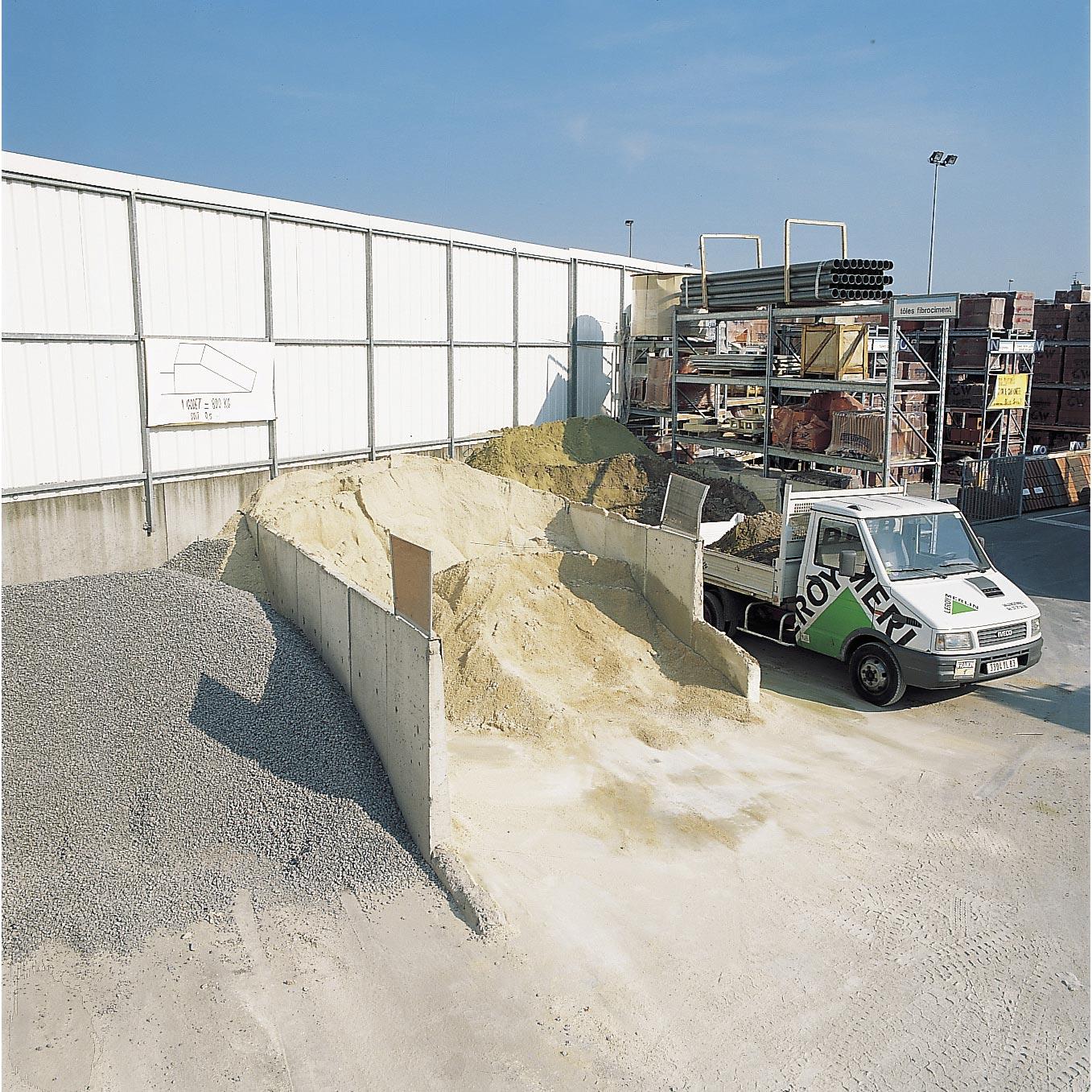 Acheter Gravier Pour Allée mélange de sable et gravier sable 0/4 / gravillon 4/20 en big-bag au godet