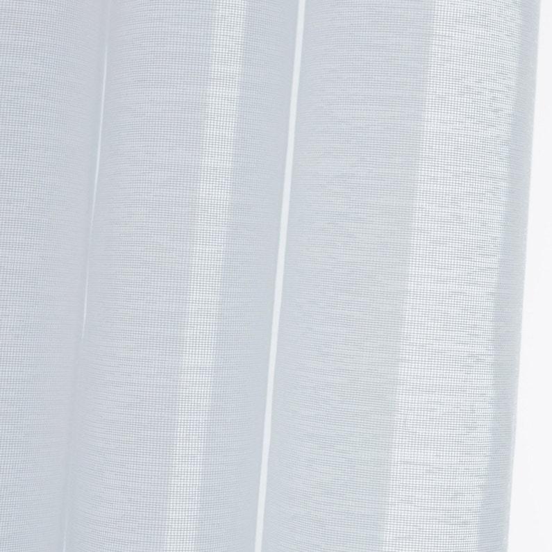 Voilage Tamisant Grande Hauteur Vita Blanc L 140 X H 350 Cm