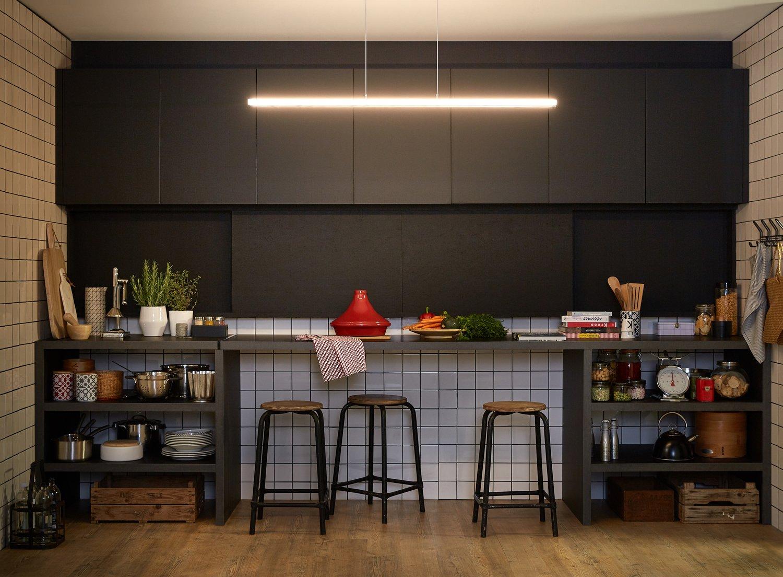 cuisine ouverte o ferm e c 39 est vous qui d cidez leroy merlin. Black Bedroom Furniture Sets. Home Design Ideas