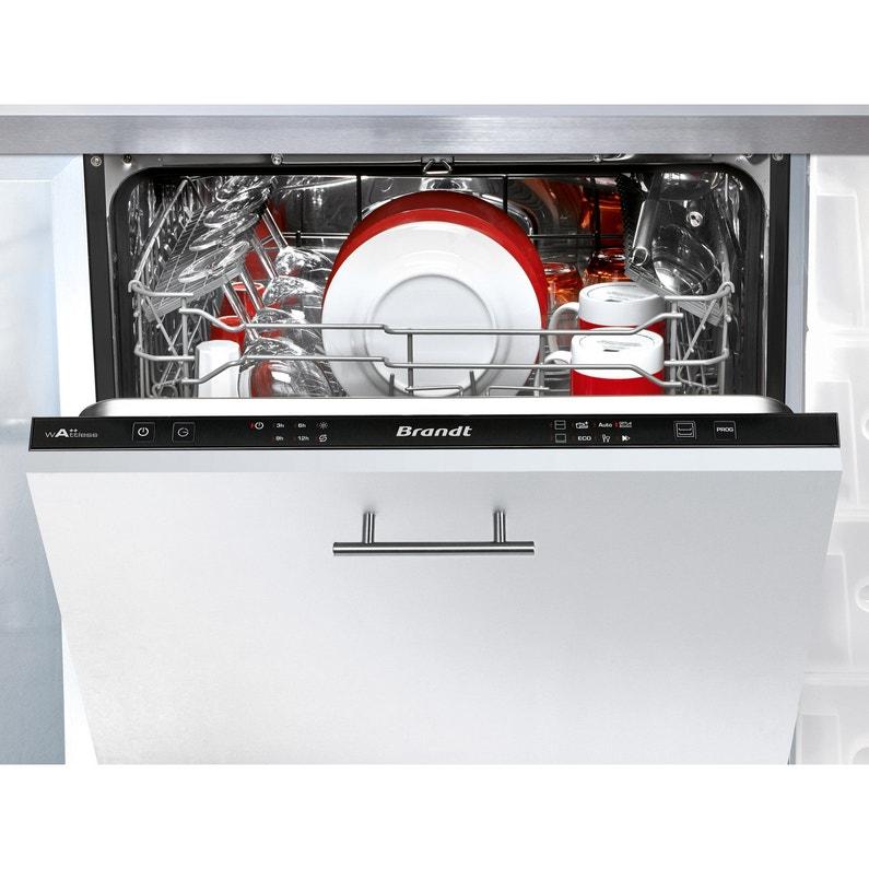 Lave Vaisselle Encastrable L598 Cm Brandt Vh1704j 14 Couverts