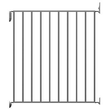 Barrière de sécurité enfant Tarnos en métal, long. min/max 67/73 cm, H68 cm