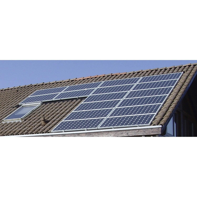 kit solaire photovolta que surimpos toiture watt home 3430w leroy merlin. Black Bedroom Furniture Sets. Home Design Ideas