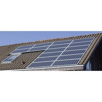 Kit solaire photovoltaïque surimposé toiture WATT&HOME 3675W