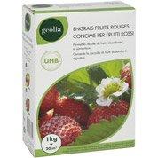 Engrais naturel fraisiers GEOLIA 1kg 16.6 m²