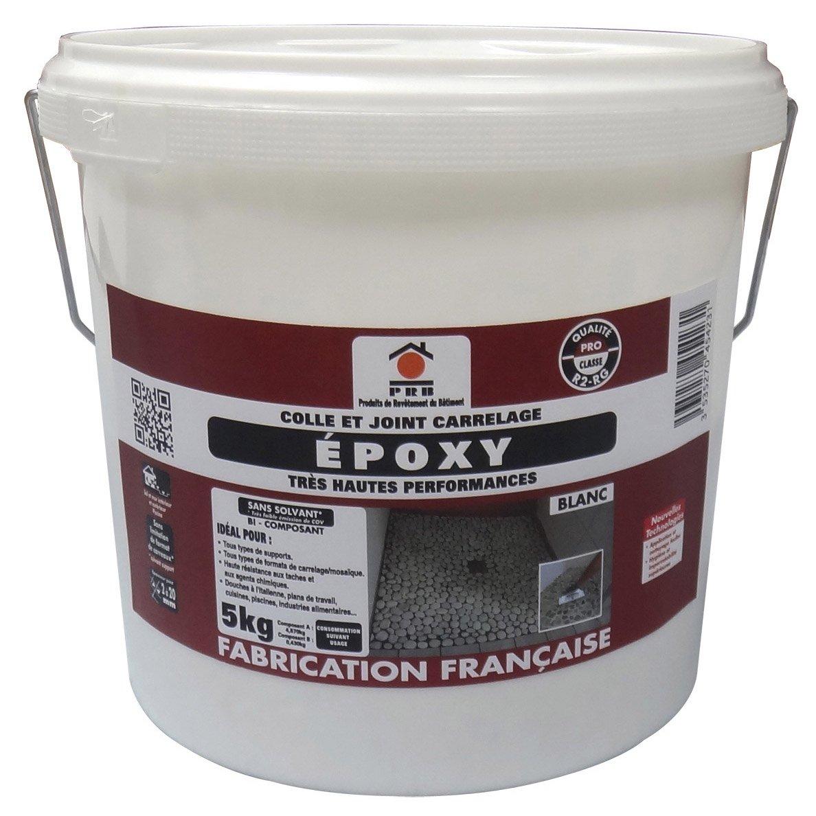 Enduit Epoxy Salle De Bain ~ colle et joint poxy pour carrelage et mosa que mur et sol 5 kg