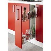 meuble de cuisine bas 1 porte blanc h86x l15x p60cm leroy merlin. Black Bedroom Furniture Sets. Home Design Ideas