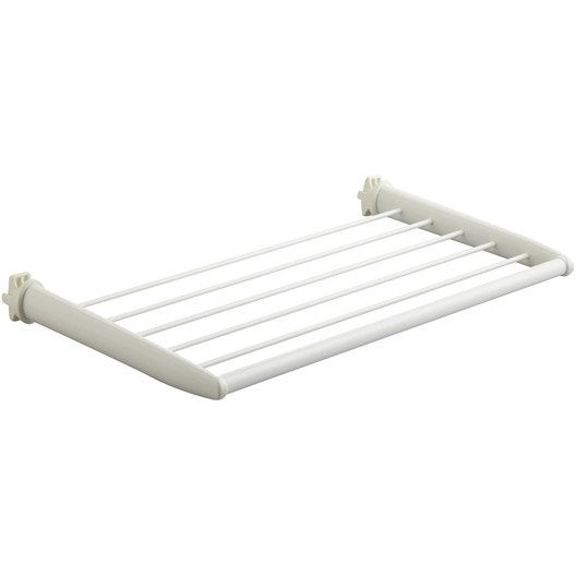 barre porte serviettes blanc leroy merlin