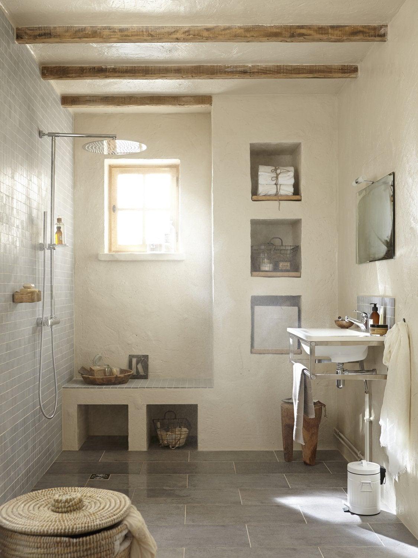 salle de bains blanc beige naturel sensea zen nature