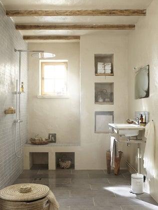 Une douche moderne et raffinée