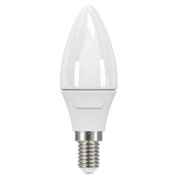 Ampoule flamme LED 5W = 470Lm (équiv 40W) E14 4000K 300° LEXMAN