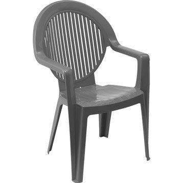 chaise et fauteuil de jardin salon de jardin table et chaise au meilleur prix leroy merlin. Black Bedroom Furniture Sets. Home Design Ideas