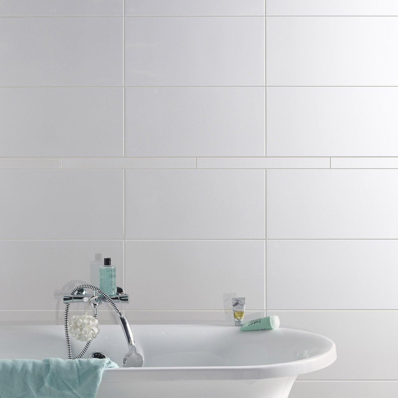listel pois blanc l 5 x cm leroy merlin. Black Bedroom Furniture Sets. Home Design Ideas