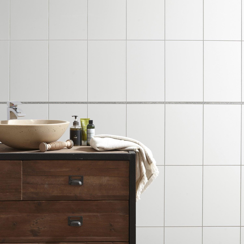 listel stardust argent l 1 x cm leroy merlin. Black Bedroom Furniture Sets. Home Design Ideas