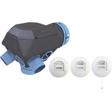 Vmc ventilation m canique contr l e vmc a rateur et for Ventilation simple flux hygroreglable